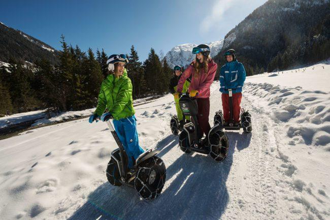 Actionsport im Winterurlaub in Flachau, Salzburger Land
