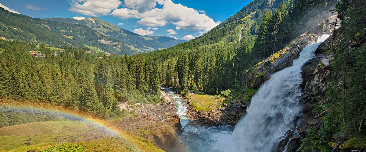 Krimmler Wasserfälle - Ausflugsziele rund um Flachau