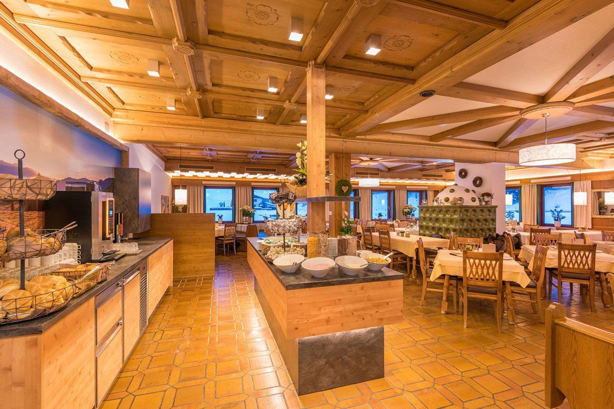 Frühstücksbuffet im 3 Sterne Hotel Schützenhof in Flachau