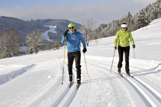 Langlaufen im Winterurlaub in Flachau, Salzburger Land