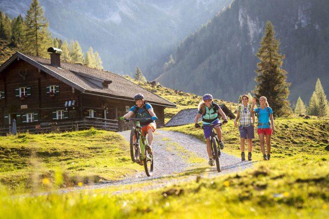 Biken & Radfahren - Sommerurlaub in Flachau