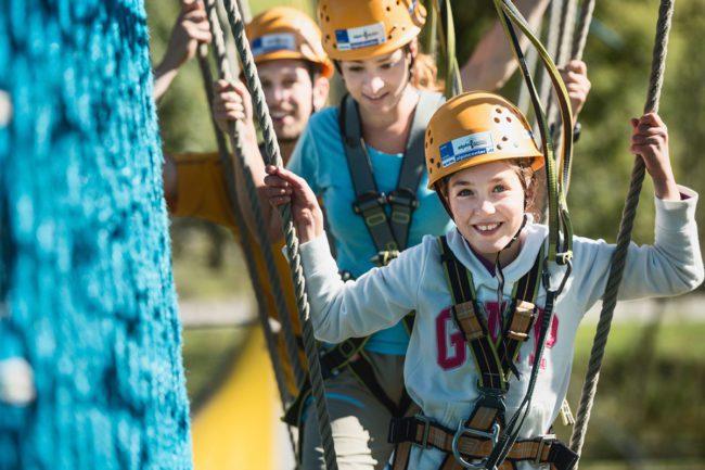 Klettern - Sommerurlaub in Flachau