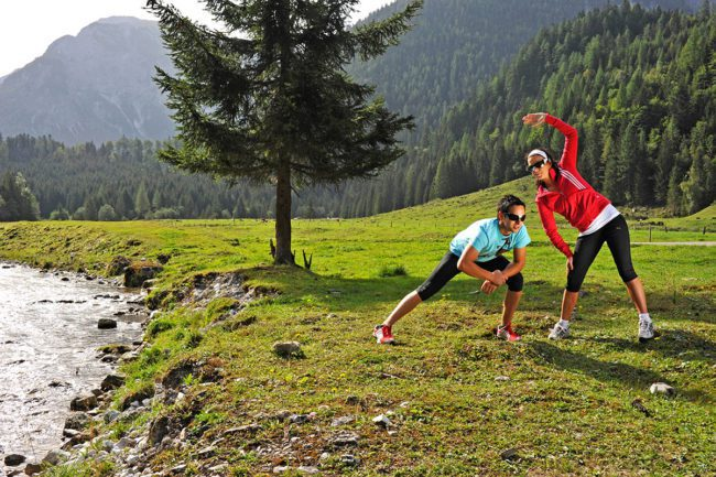 Laufen - Sommerurlaub in Flachau