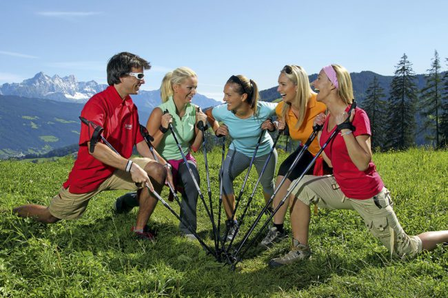 Nordic Walking - Sommerurlaub in Flachau