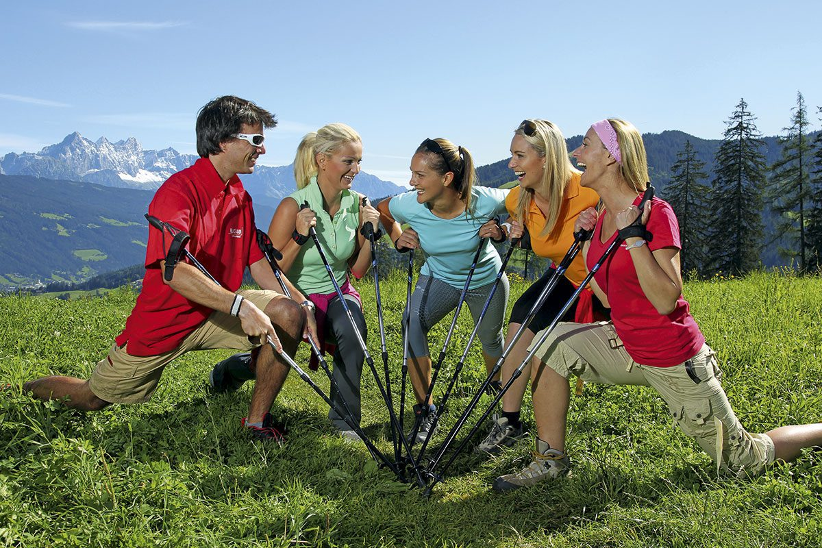 Nordic Walking - Sommerurlaub in Flachau