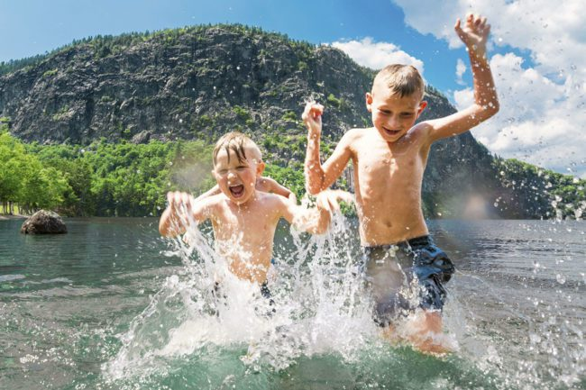 Schwimmen & Baden - Sommerurlaub in Flachau